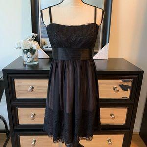 BCBGMaxAzria | Lace Sequin Party Dress